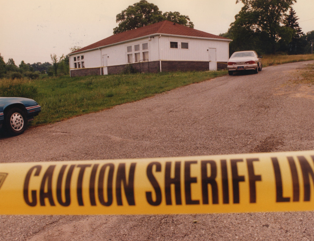 Description of . 6/26/1995- The scene of one of Dr. Kevorkian's assisted suicides in Oakland County (Holly Rd. and Dixie Hwy.)