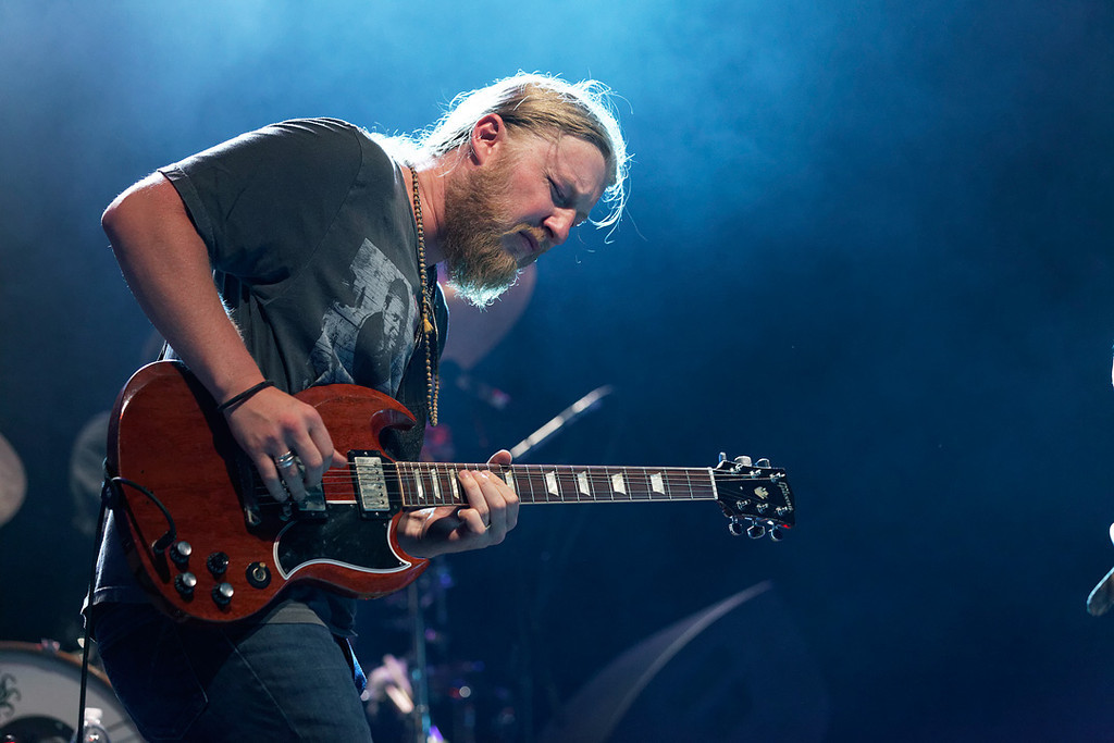 Description of . Derek Trucks performs at Freedom Hill Amphitheatre on Tuesday, June 17. 