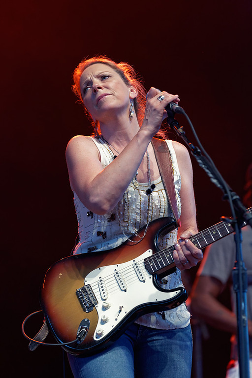 Description of . Susan Tedeschi performs at Freedom Hill Amphitheatre on Tuesday, June 17. 