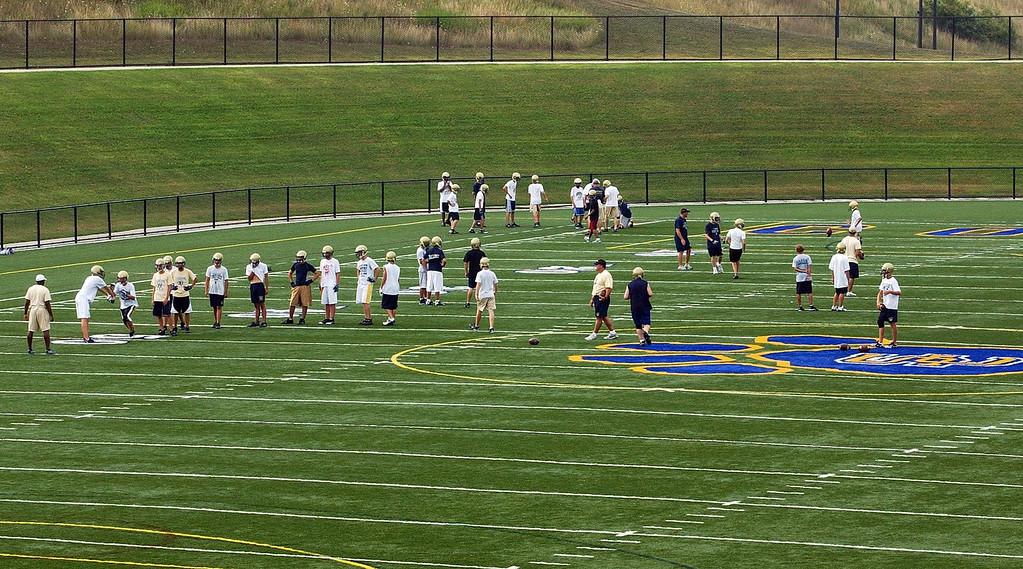 Description of . Stoney Creek High School\'s football stadium.