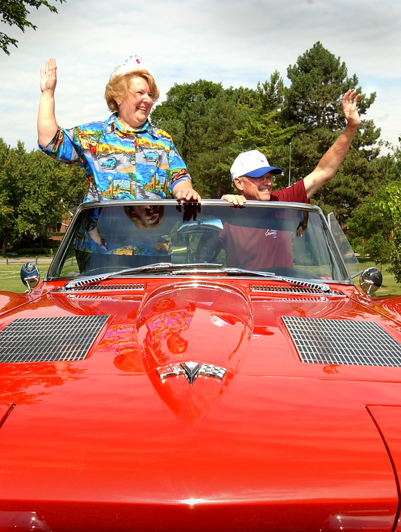 Description of . Barbara and Tony Wheeler of Roayl Oak, have been selected as the King and Queen of the 10th annual Woodward Dream Cruise. The couple was announced at the kickoff lunch.