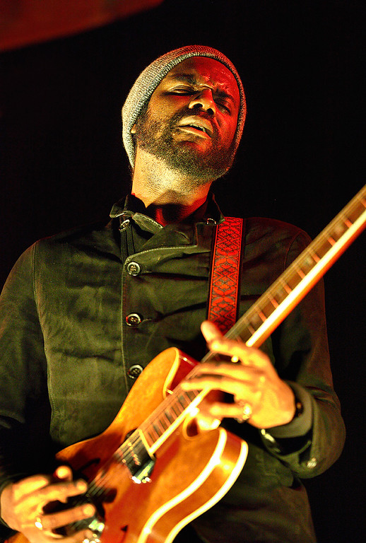 Description of . Gary Clark Jr. performs at The Palace on Feb. 11, 2014. Photo by Ken Settle