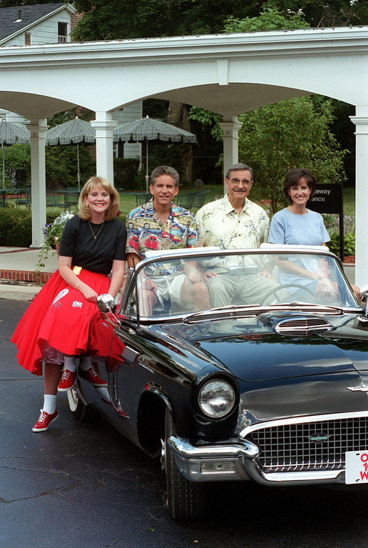 Description of . (f.left) Mary Conway, Guy Gordon, Dick Purtan and Joanne Purtan will be hosting the Woodward Dream Cruise coverage on Channel 7.