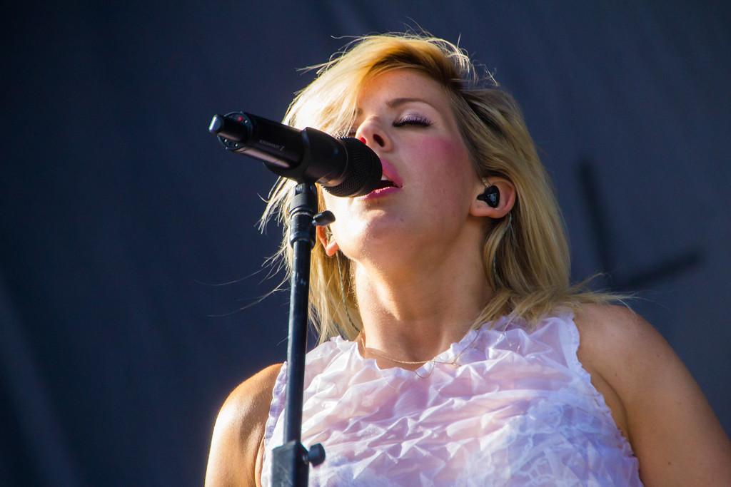Description of . Ellie Goulding at Lollapalooza