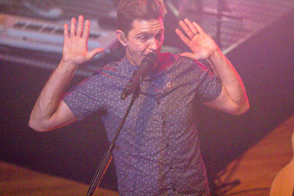 Description of . Andy Grammer - The Crofoot Ballroom - Pontiac, Michigan - 7/7/2014 - Photos by Dylan Dulberg/Special to The Oakland Press