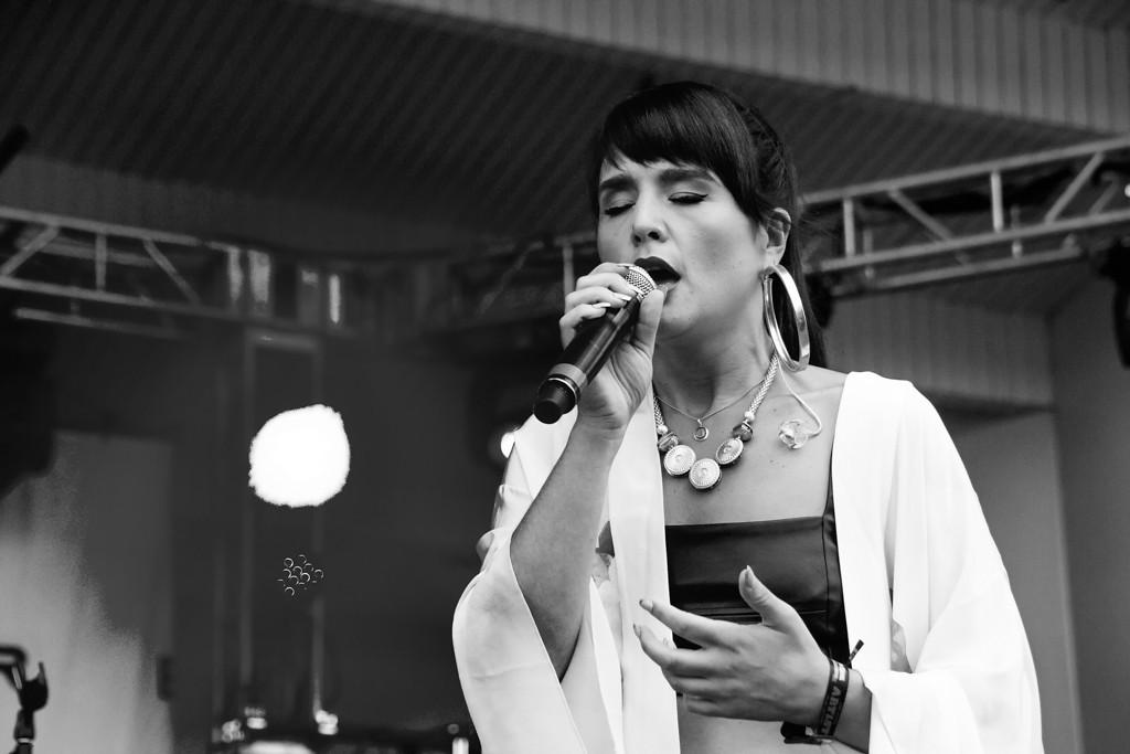 Description of . Jessie Ware at Lollapalooza