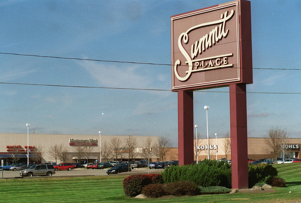 Description of . Summit Place Mall has stores closing and moving to Great Lakes Crossing Mall.