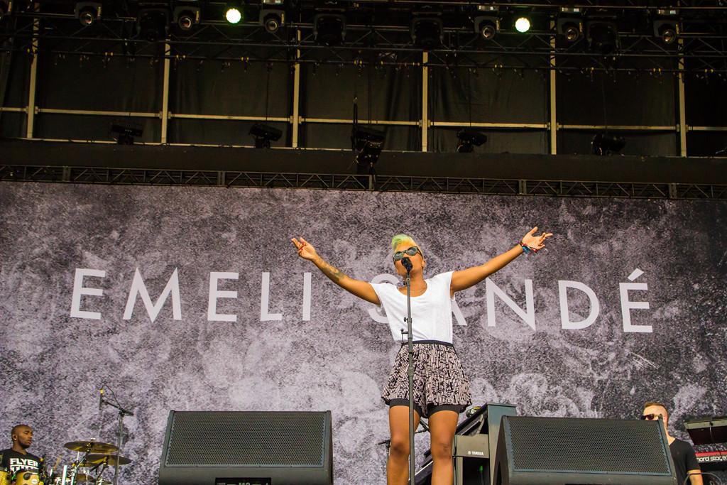 Description of . Emeli Sande at Lollapalooza