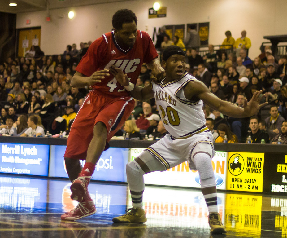 Description of . Felder attempts to keep his opponent from the ball. Photos by Dylan Dulberg/The Oakland Press