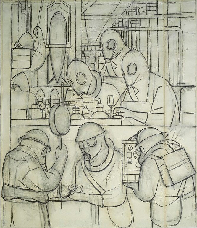 Description of . Manufacture of Poisonous Gas Bombs