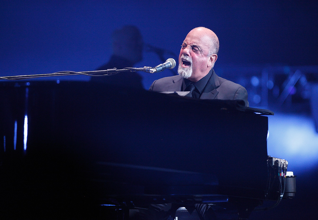 Description of . Billy Joel performs at The Palace of Auburn Hills on Saturday, Feb. 15, 2014. Photo by Ken Settle