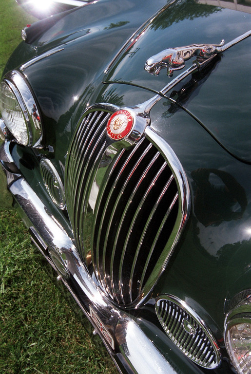 Description of . This 1963 Jaguar will be one of the classic cars taking part in this year\'s Woodward Dream Cruise, on display at Eaton Corp.\'s employee Dream Cruis picnic in Southfield.