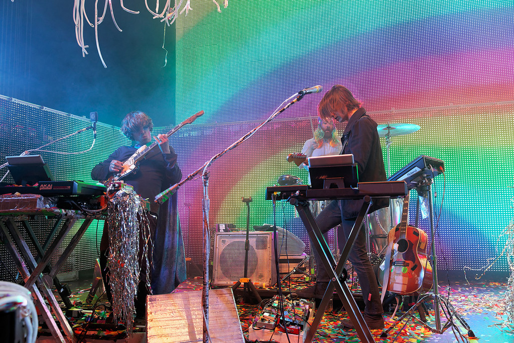 Description of . The Flaming Lips at Fillmore Detroit on 6-12-14. Photo by Ken Settle