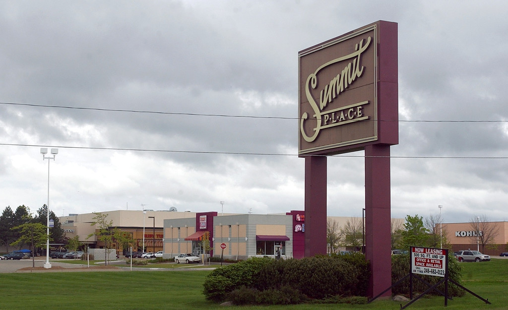 Description of . The Summit Place Mall in Waterford Twp.