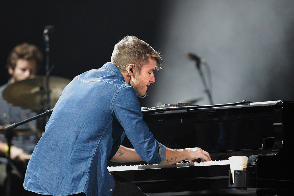 Description of . Jon McLaughlin performs at The Palace of Auburn Hills on Saturday, Feb. 15, 2014. Photo by Ken Settle
