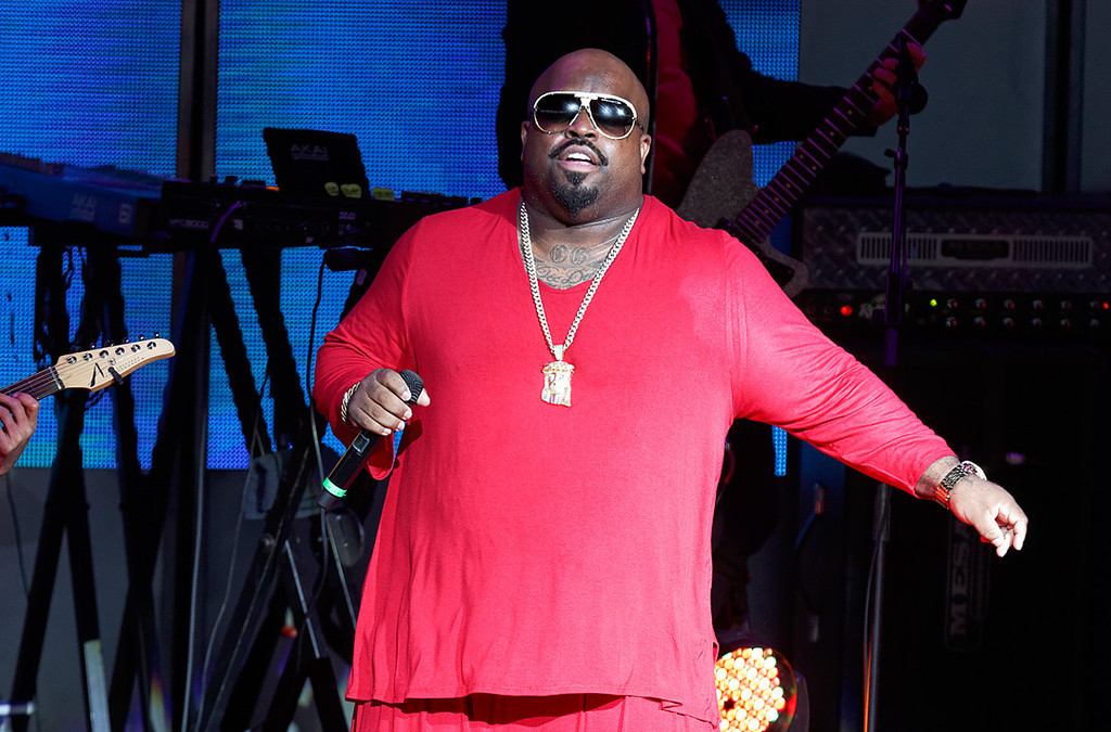 Description of . CeeLo Green performs at DTE Energy Music Theatre in Independence Township on June 20, 2014. Photo by Ken Settle