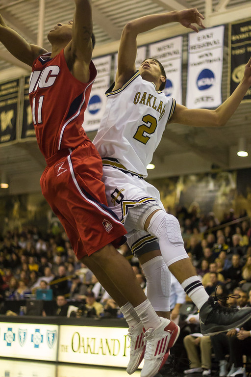 Description of . Williams goes for the rebound. Photos by Dylan Dulberg/The Oakland Press