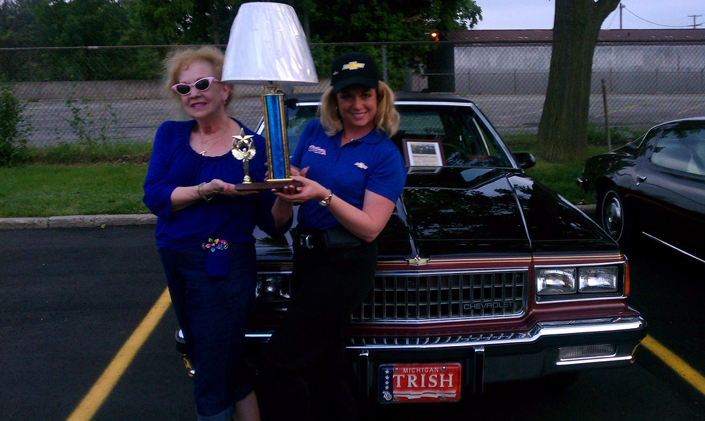 Description of . Name: (Rhonda Treadwell and mother Pat Furman) Cutline: 1986 Chevrolet Caprice classic. My mother & I are the original owners...only 77,500 miles on it. We have been crusin' the area for two years now since the car is now considered a