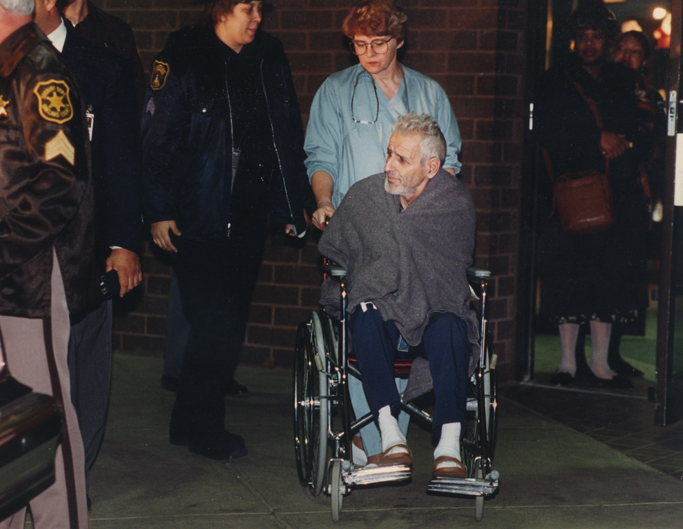 . 12/10/1993- Dr. Kevorkian is wheeled out of PGH hospital.