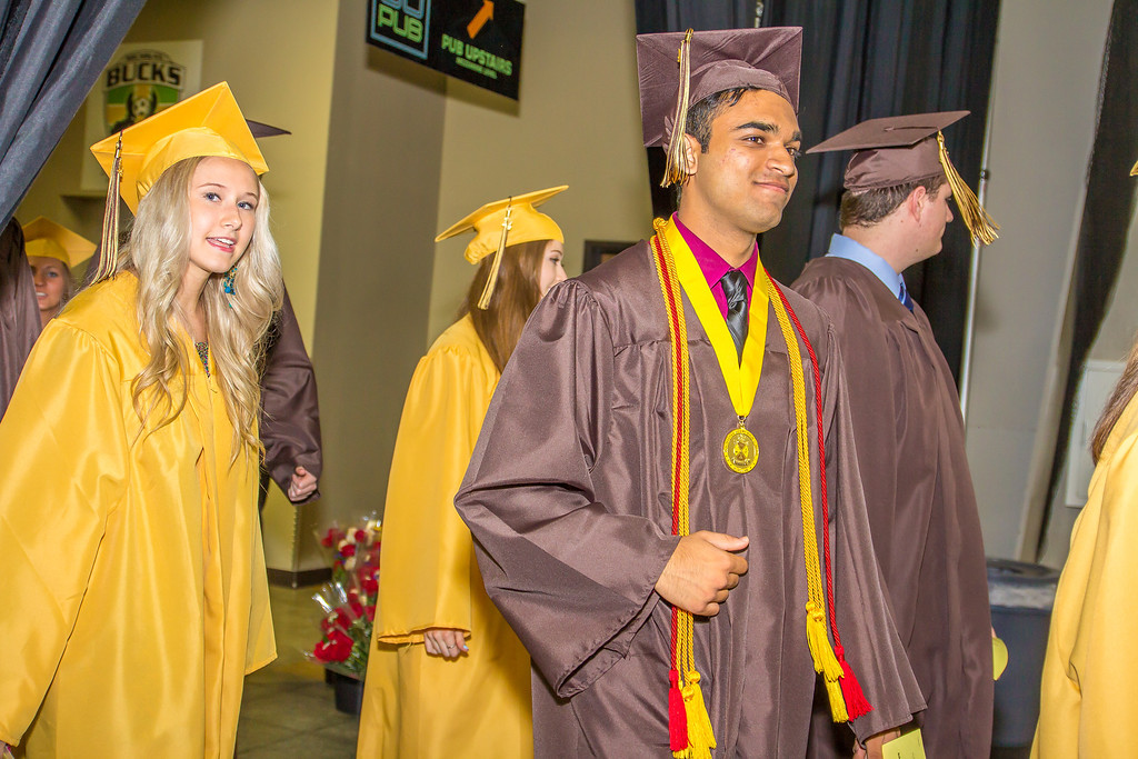. Rochester Adams High School 2014 Graduation Ceremony - 6/4/2014 - Photos by Dylan Dulberg/Special to The Oakland Press