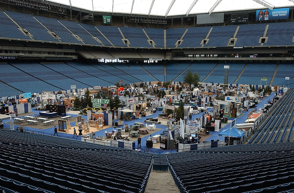 . The 2011 Michigan Home & Garden Show at the Pontiac Silverdome,  March 11, 2011. The show runs through Sunday. (Oakland Press Photo: Vaughn Gurganian)