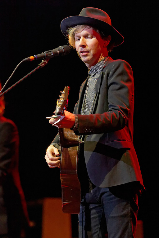 . Beck performs at the Fox Theatre in Detroit on June 29, 2014. Photo by Ken Settle