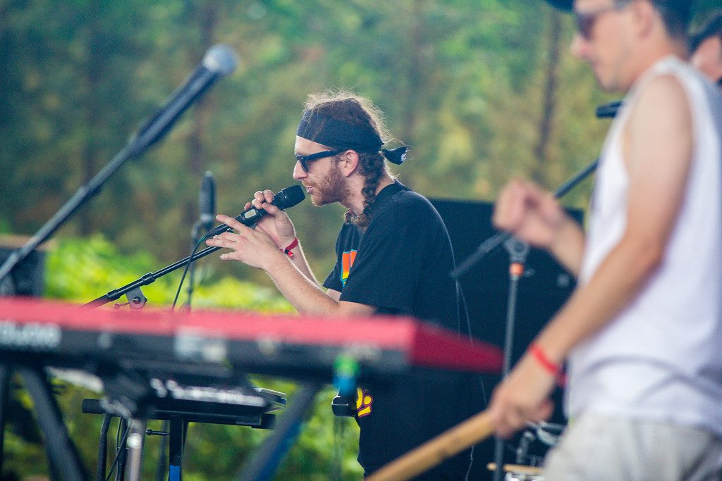 . Bear Hands performing at Mo Pop Fest - Freedom Hill, Sterling Heights - 6/12/14. Photos by Dylan Dulberg/Special to The Oakland Press