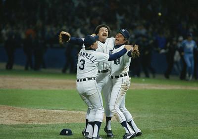 Royals vs Tigers AL Playoffs 1984