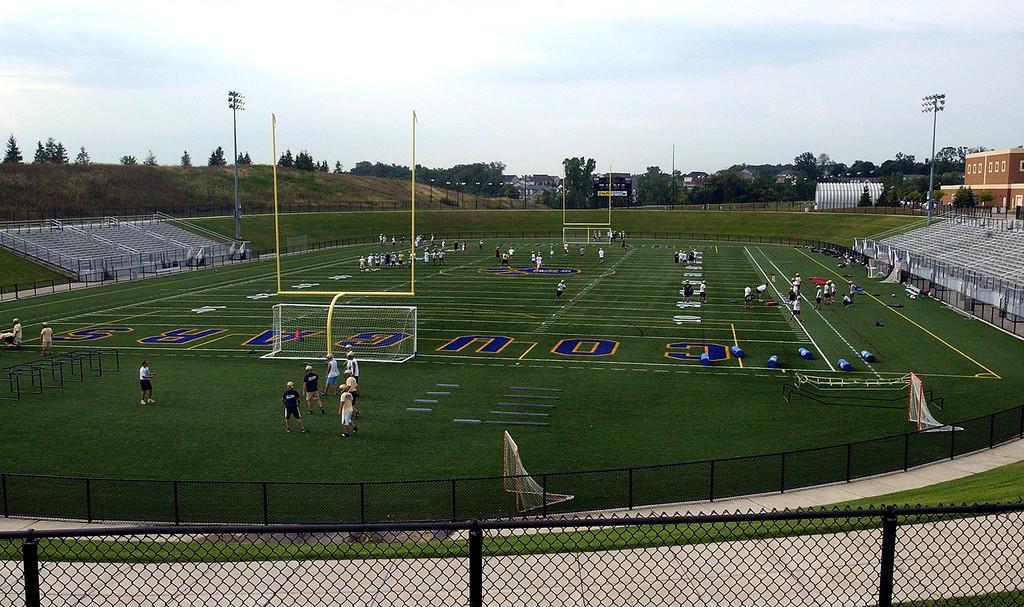 . Stoney Creek High School\'s football stadium.