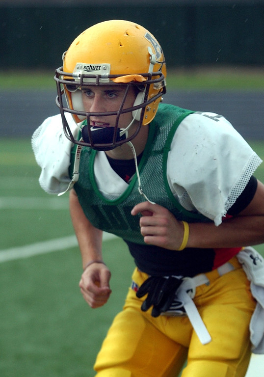 . Austin McClelland and the rest of the Rochester Adams High School football team have dedicated their season to his brother, Alex, a former player, who died of cancer July 15, 2009.