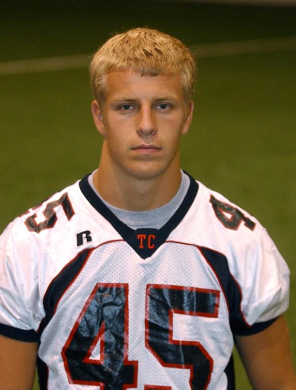 . Will Schwarz, Troy High School football player.