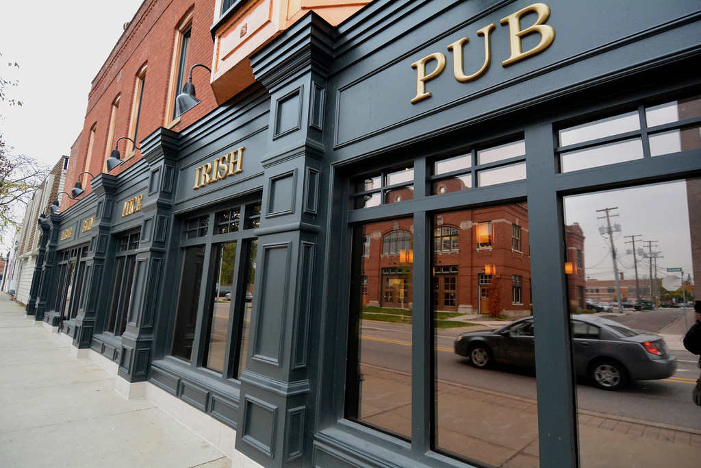 . The new Three Blind Mice pub is in a renovated 113-year-old building on Main Street at Market Street in Mount Clemens. Ray J. Skowronek/Digital First Media