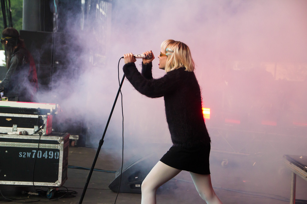 . Crystal Castles at Lollapalooza