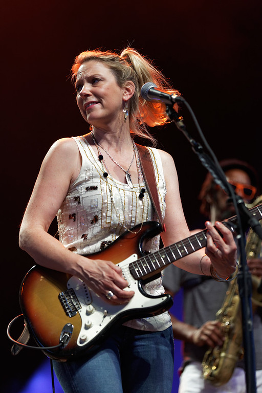 . Susan Tedeschi performs at Freedom Hill Amphitheatre on Tuesday, June 17.  Photo by Ken Settle