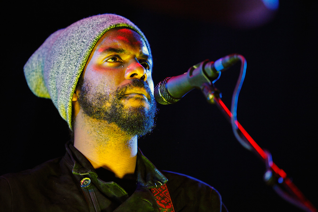 . Gary Clark Jr. performs at The Palace on Feb. 11, 2014. Photo by Ken Settle