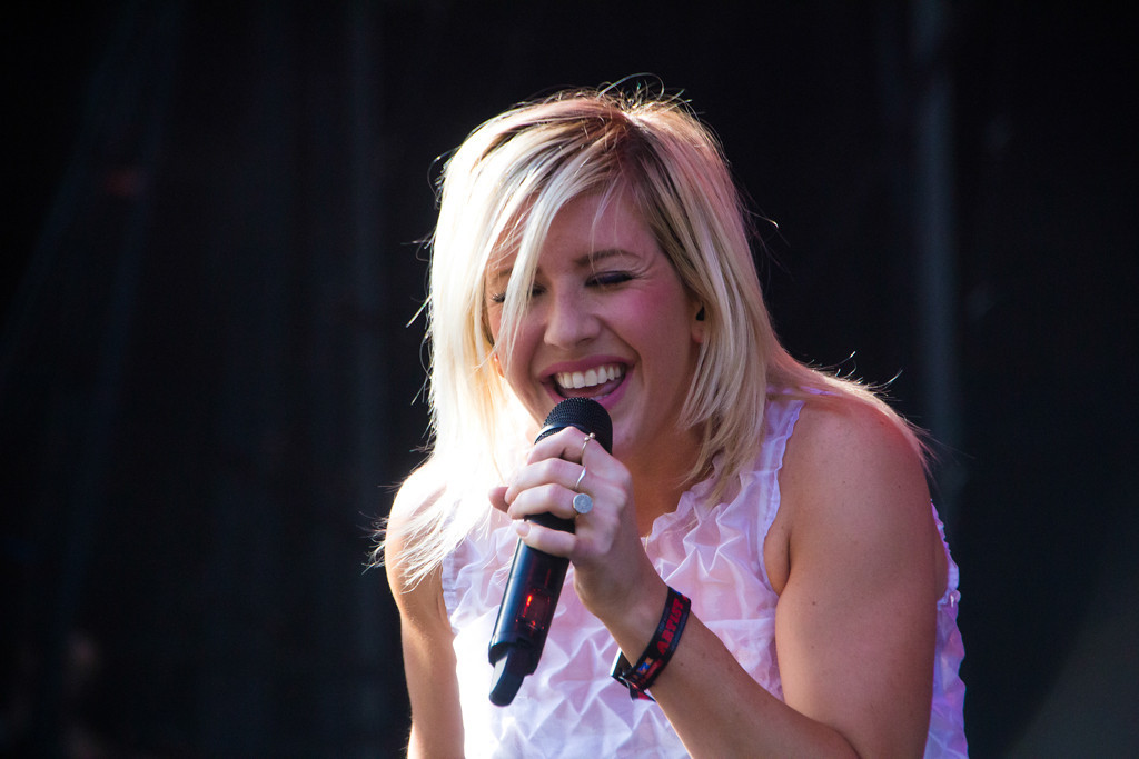 . Ellie Goulding at Lollapalooza