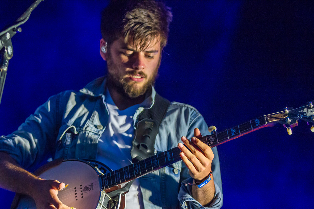 . Mumford and Sons closing out the Red Bull Stage at Lollapalooza