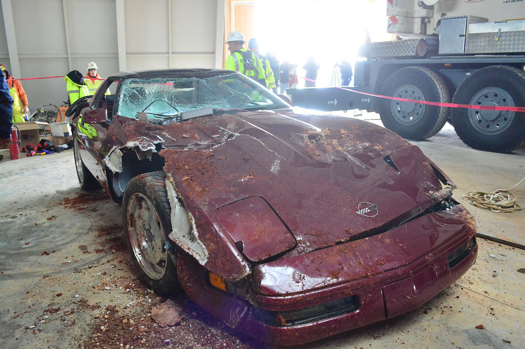 . Photo courtesy of National Corvette Museum/Facebook