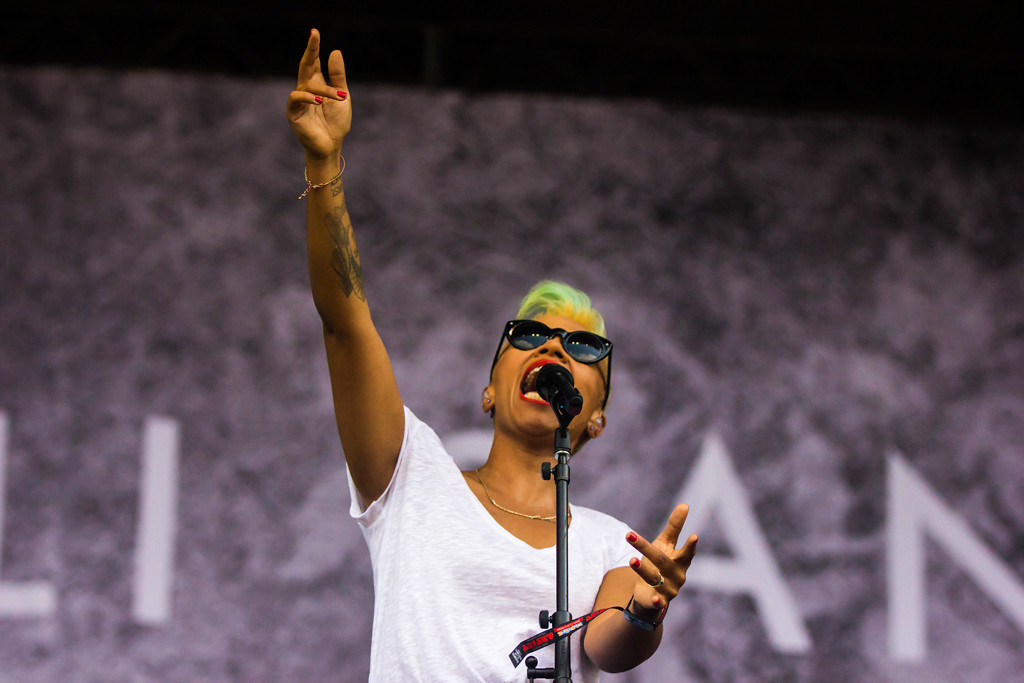 . Emeli Sande at Lollapalooza