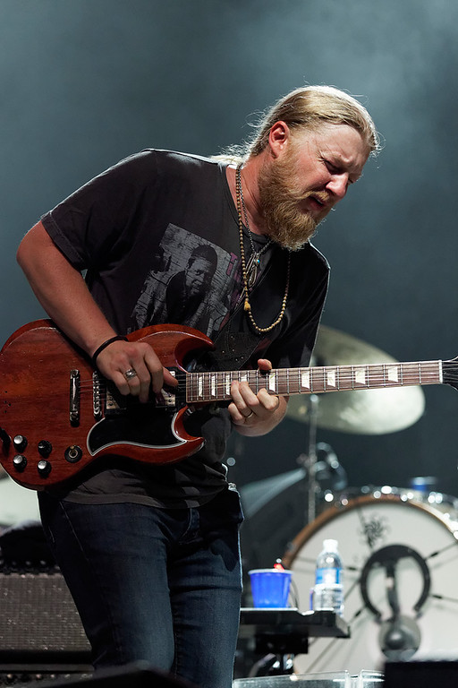 . Derek Trucks performs at Freedom Hill Amphitheatre on Tuesday, June 17.  Photo by Ken Settle