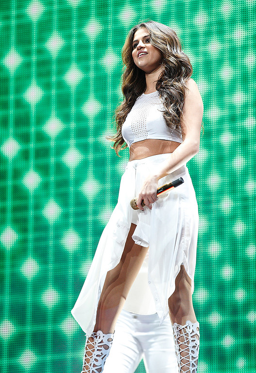 . Selena Gomez performed Tuesday night, Nov. 26, at The Palace of Auburn Hills. Photo by Ken Settle