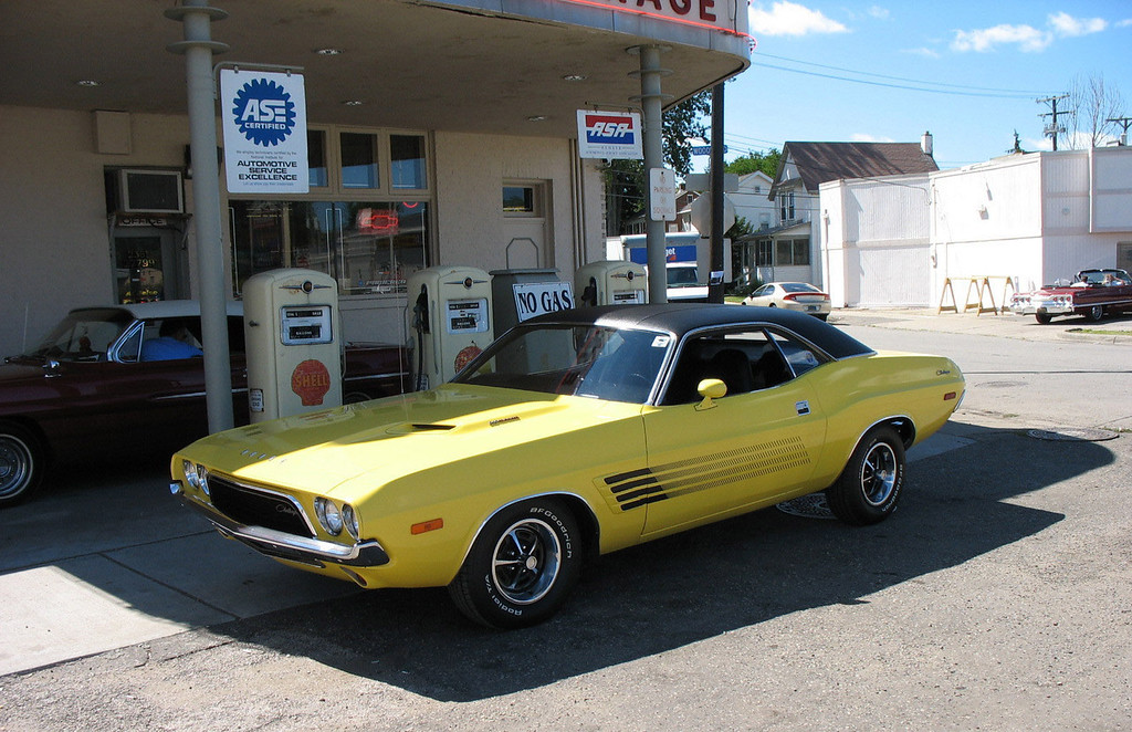 . 1972 Dodge Challenger, less than 54,000 miles, all factory original, owned since 2000. Larry and Sue Lempicki.  These are our Woodward Cruisers ! Larry and Sue Lempicki Clarkston