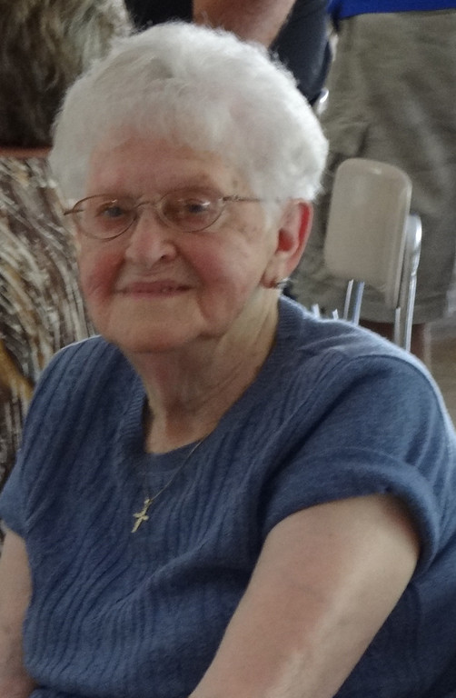 . My 95-year-old mother.
