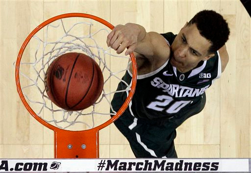 Photos: Michigan State knocks off No. 2 seed Virginia 60-54