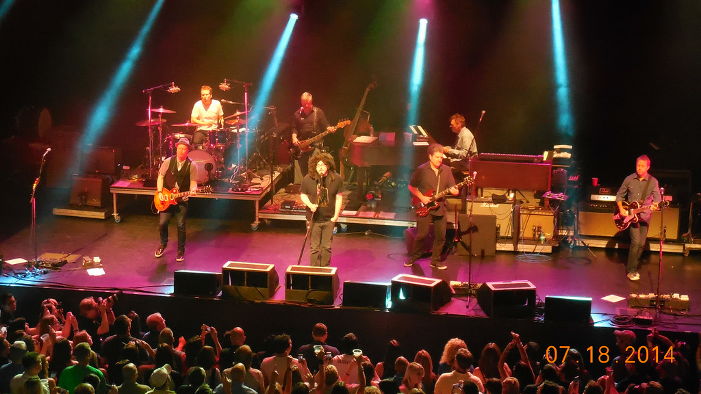 . Counting Crows perform at Sound Board in the MotorCity Casino on Friday, July 18, 2014. Photo by Blake Gitlin