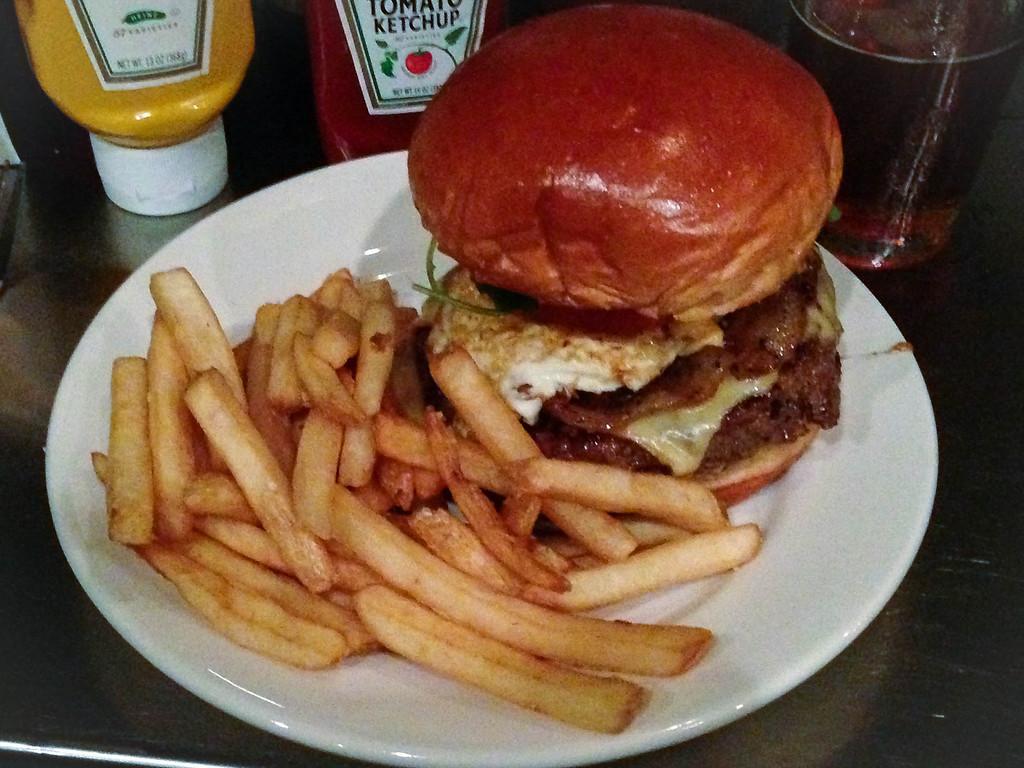 . The Revolution Burger at Republica in Berkley. Photo by Lori Yates.