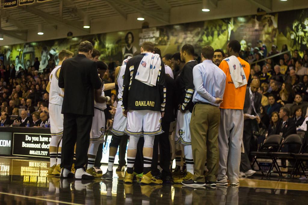 . The Oakland University Golden Grizzlies. Photos by Dylan Dulberg/The Oakland Press