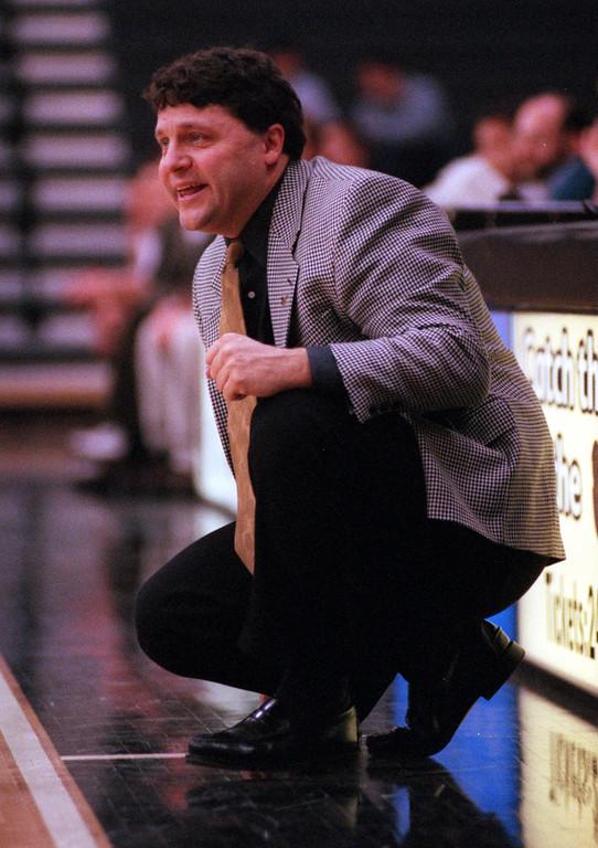 . Oakland University mens basketball head coach Greg Kampe.