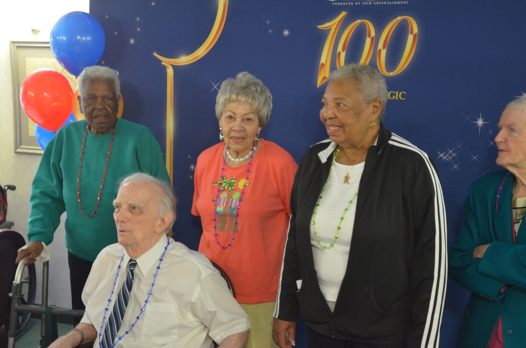 . Several senior citizens also celebrated their 85th birth anniversary with Mickey Mouse at American House Senior Living Community in Southfield.