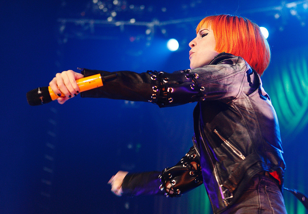 . Paramore\'s Hayley Williams performs at The Palace Thursday night, Nov. 21, 2013. Photo by Ken Settle